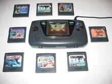Sega GameGear with some games